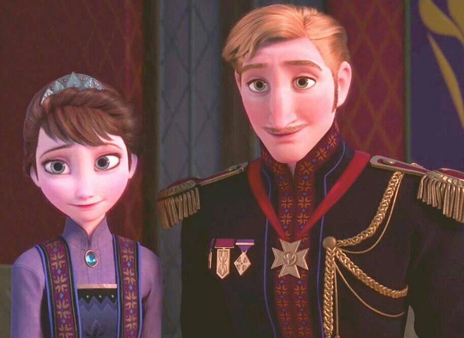 Image result for elsa's parents