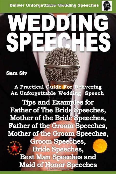 wedding speeches  practical guide  delivering