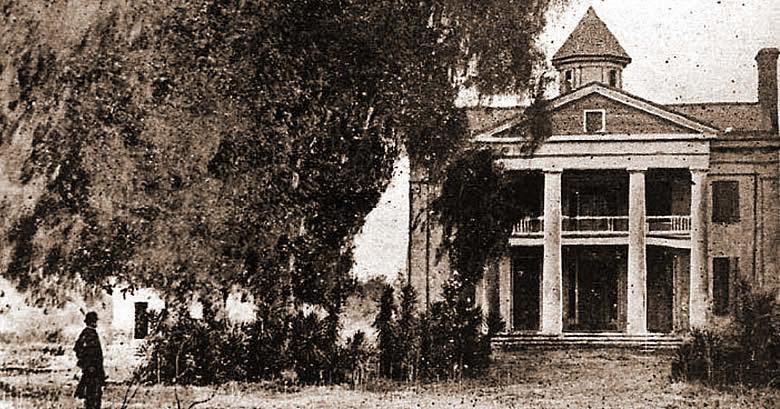 Lack Jackson Plantation main house