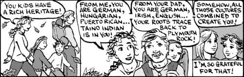 Home Spun comic strip #420
