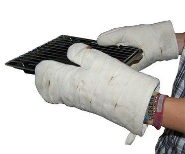 Image result for bandaged hands