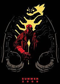 Hellboy 2 - Comic-Con limited-edition poster