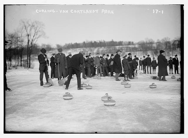Curling, Van Cortlandt Park, New York