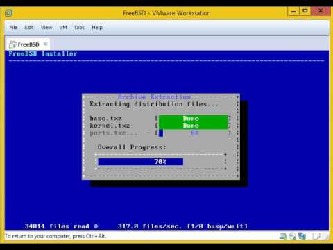 installation FreeBSD