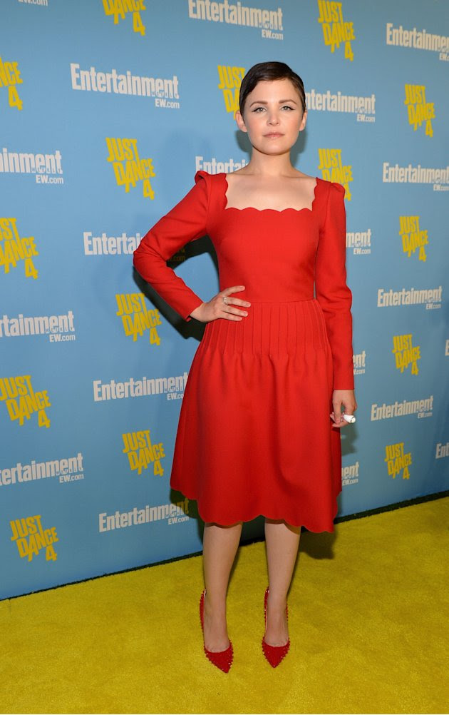 Ginnifer Goodwin at the 2012 Comic-Con Entertainment Weekly party.