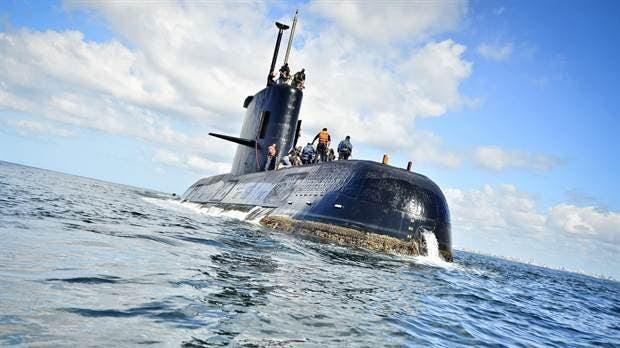 El submarino desaparecido