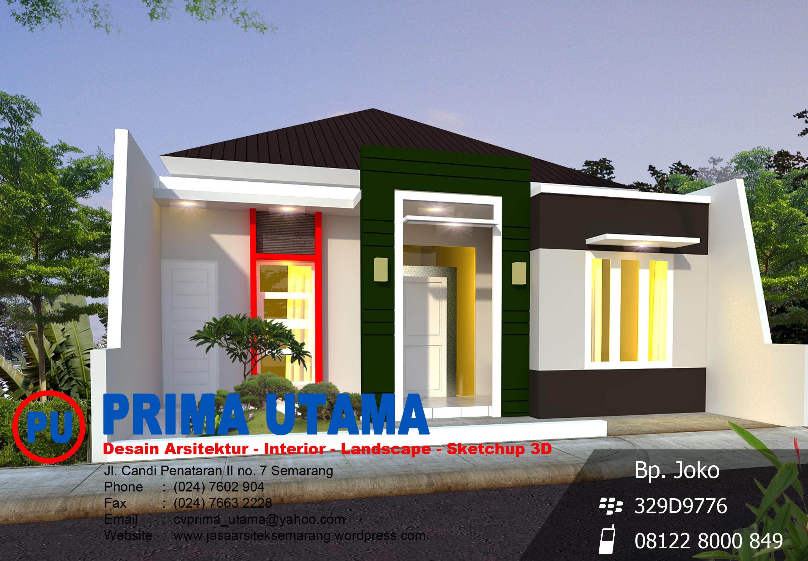 Kumpulan Jasa Desain Rumah Minimalis Semarang Kumpulan Desain Rumah