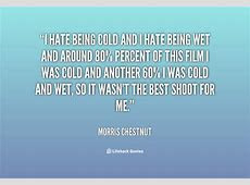 Dislike Cold Weather Quotes