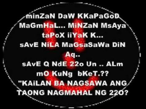love quotes tagalog