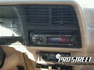 1991 Ford Explorer Radio Wiring Diagram