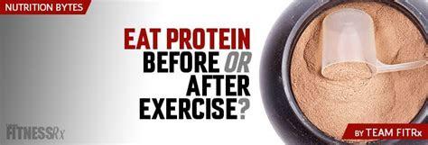 eat protein    exercise fitnessrx  men