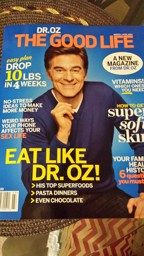 I've Been Featured in Dr. Oz Debut Magazine