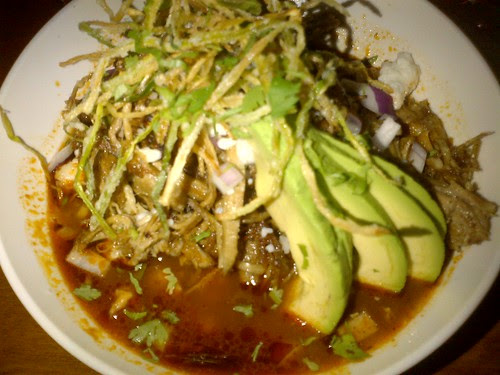 Posole at Hell's Kitchen Restaurant