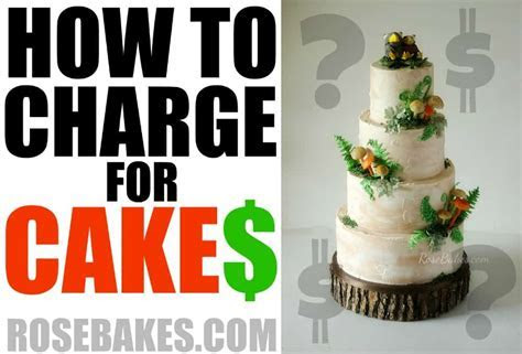 "Have you read ""How to Charge for Cakes""?   Rose Bakes"