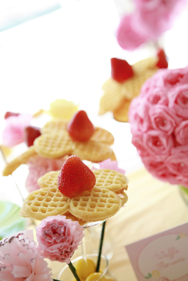 waffle flowers