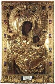 The Original Iveron Icon on Mt. Athos