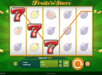 Игровой автомат fruits n stars играть ставка букмекерская деньги