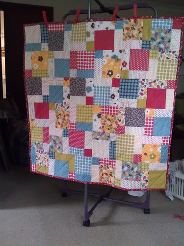 Classic baby quilt