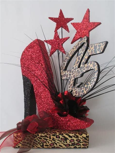 Styrofoam High Heel Shoe birthday or special event
