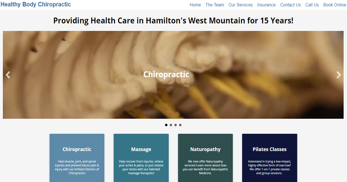 Home Healthy Body Chiropractic
