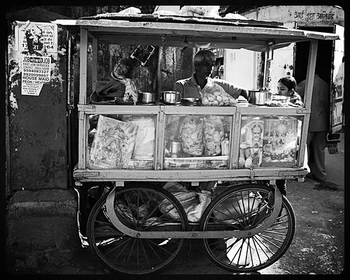 The Panipuri Wala Bhaiyya Bandra by firoze shakir photographerno1