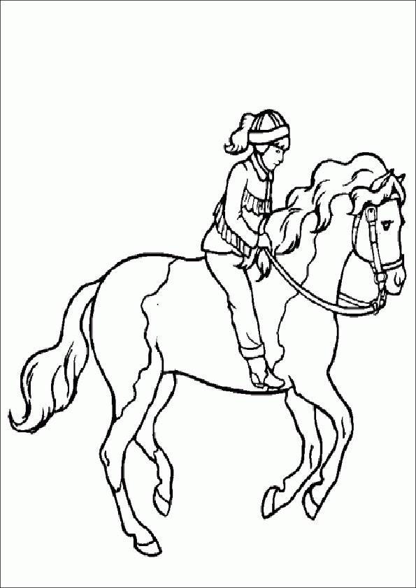 Pferde 13 Ausmalbilder Kostenlos