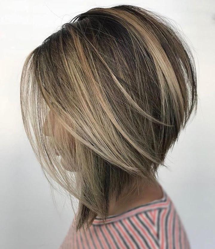 10 Creative Hair Color Ideas for Medium Length Hair, Medium Haircut 2019