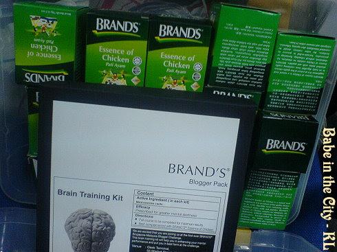 Brand's Blogger Challenge Kit