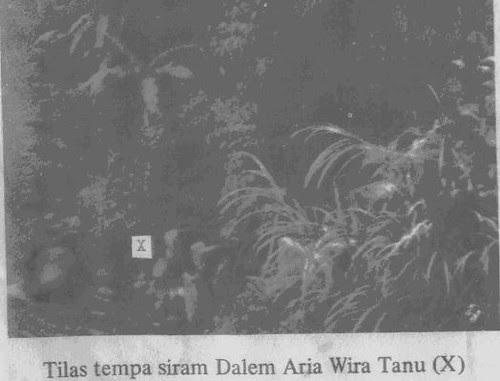 Tempat Siram Dalem Aria Wira Tanu