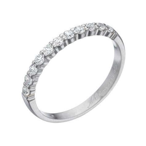Memoire Diamond & White Gold Women's Wedding Band   King