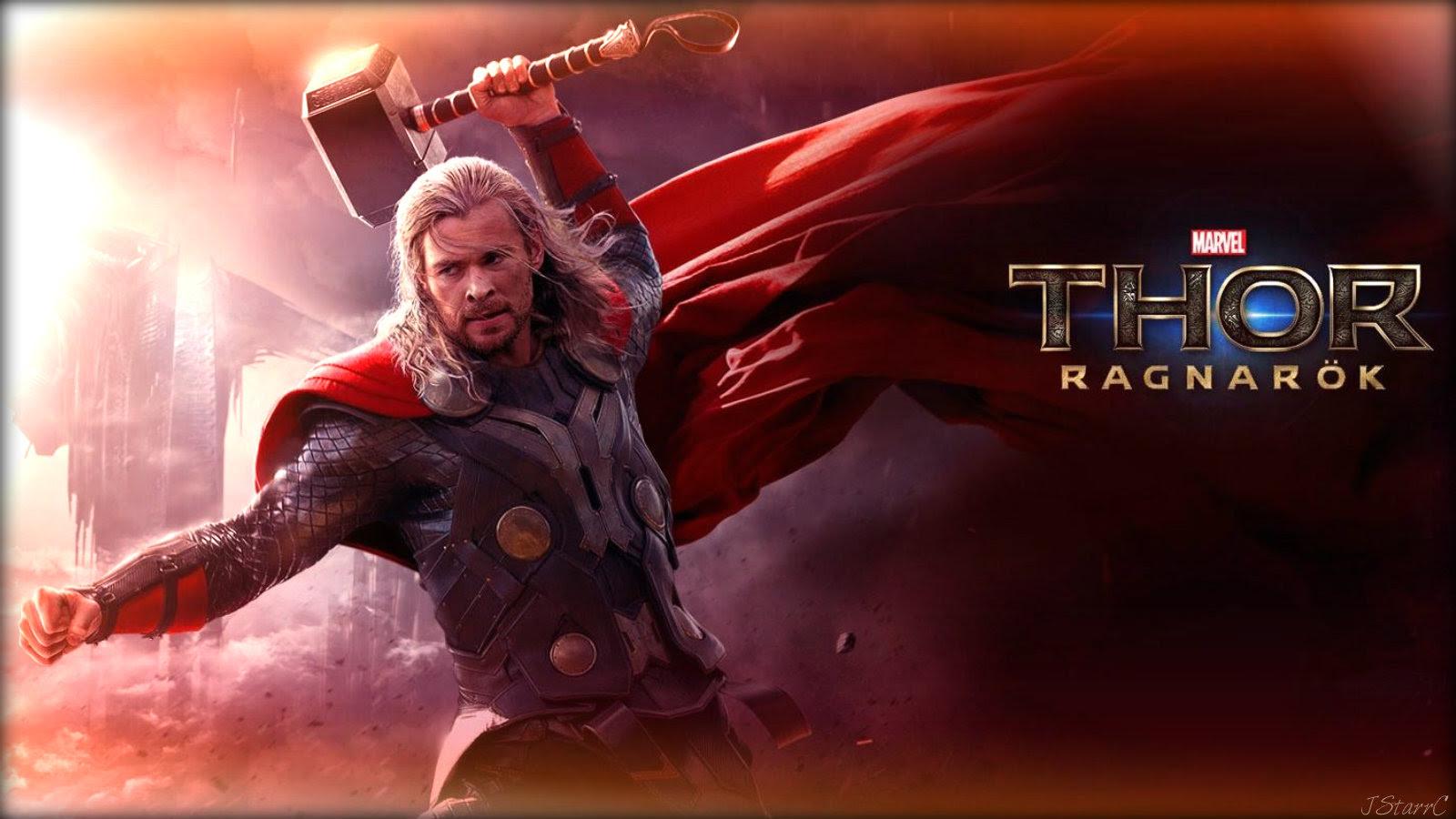 Thor Ragnarok Art Wallpaper
