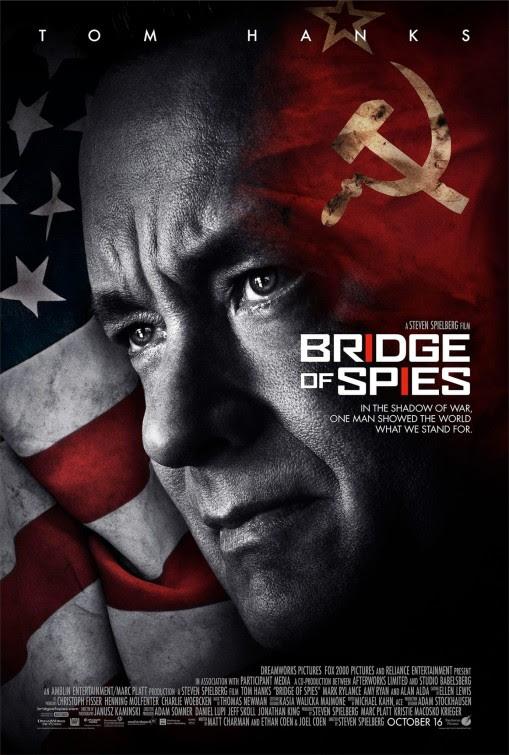 Resultado de imagem para bridge of spies movie poster