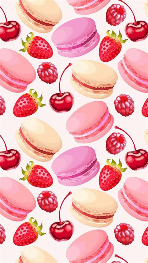 Cute Girly Macaroon Wallpaper for Iphone   2018 Wallpapers HD