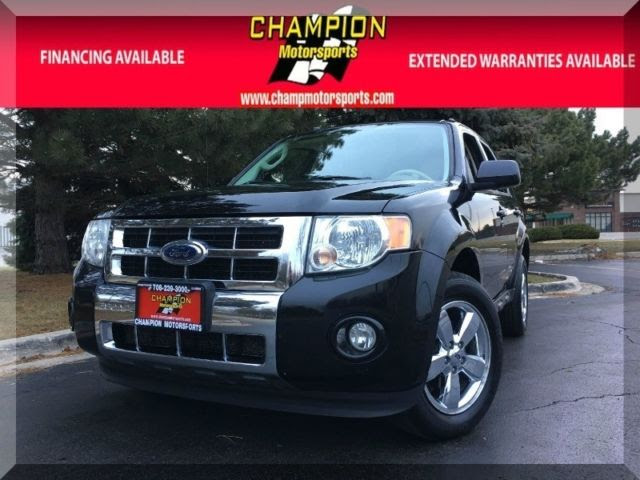 2010 Ford Escape Limited Fwd 4dr Limited 97613 Miles Black