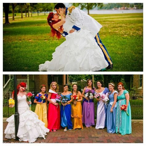 Real Wedding Album: Ariel & Prince Eric! (Because Every