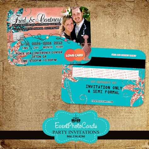 Arabian Theme Coral and Turquoise Wedding Invitations
