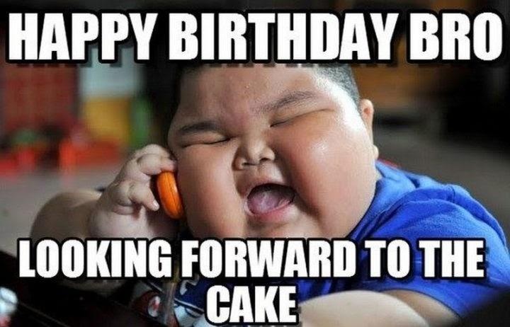 Happy Birthday Brother Funny Meme