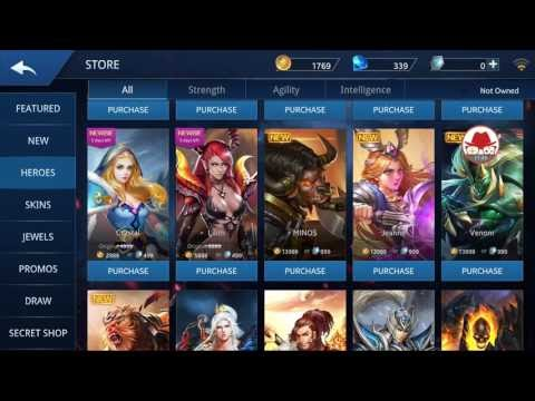 Heroes Evolved Android Moba Gameplay