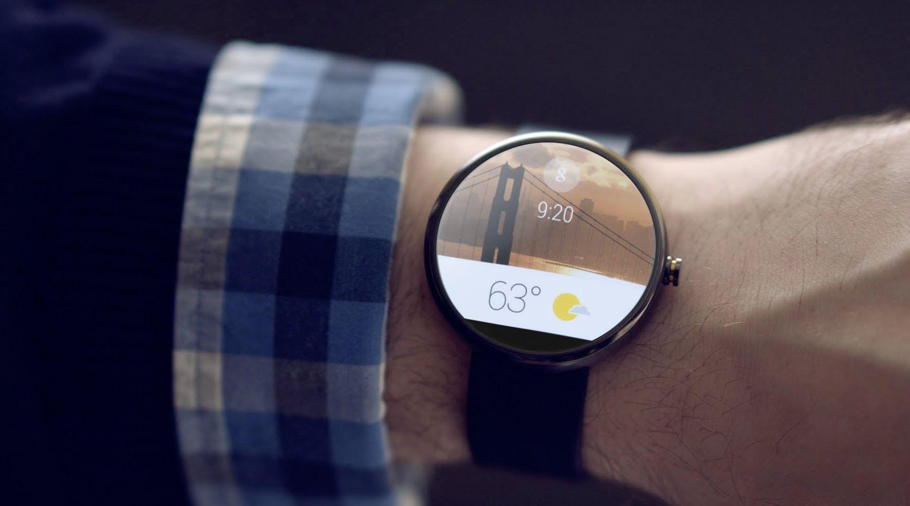 Marcas de relógios de luxo perseguem interfaces do Android Wear