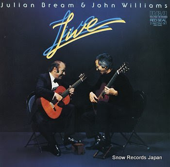 BREAM, JULIAN & JOHN WILLIAMS live