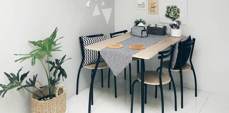 Desain Ruang Makan Kecil Sederhana Terbaru