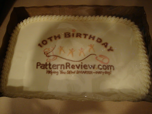 Austin:  PR 10th anniversary carrot cake!