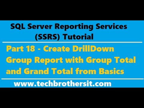 Welcome To TechBrothersIT: SSRS Tutorial 18 - Create