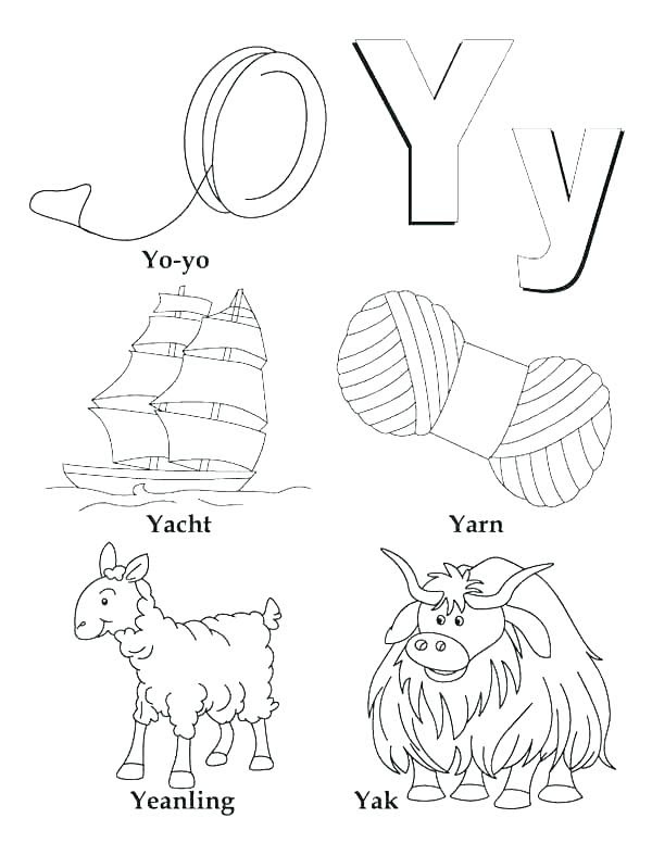 750 Top Alphabet Coloring Pages I , Free HD Download