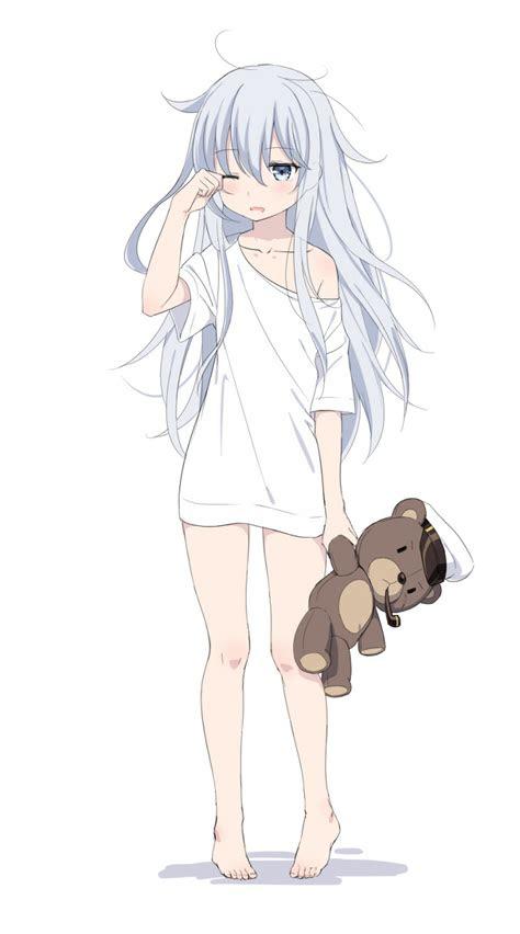 verniy hibiki kancolle kantai collection anime