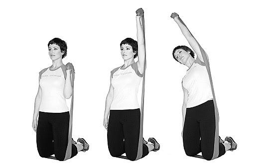 Exercícios de pilates com faixa elástica - thera-band!