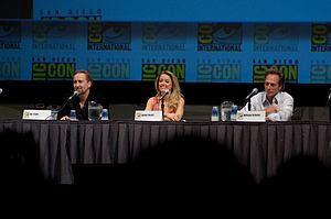 Drive Angry 3D Panel. Actors Nicolas Cage, Amb...