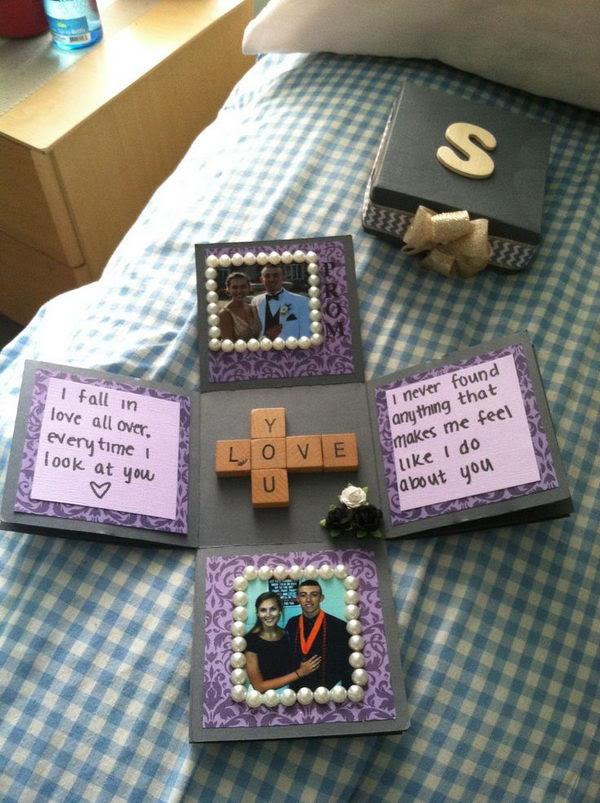 ... Box of Love. http://hative.com/romantic-scrapbook-ideas-for-boyfriend