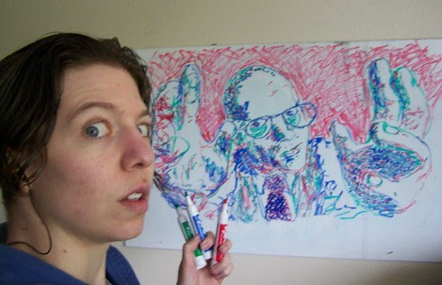 may 173 Drawing George Hrab