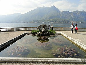 Villa Melzi (Bellagio), on Lake Como, Italy.